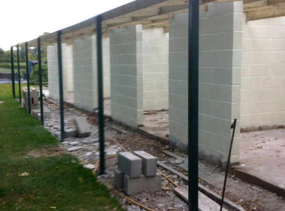 Outer Walkway & Paint