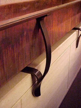 Copper Planter, Detail