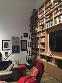 Sherry Owen Rolling Library Ladder