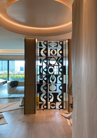 Salka Residence, Contemporary Grille, Entry