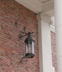 St. Andrew Porch Light, Installed