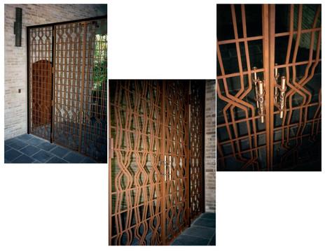 Entry Gates/ Bronze Door Pulls