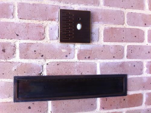 Mail Slot/Chute, Audio-Video Doorbell