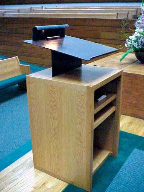 Unitarian Church Pulpit