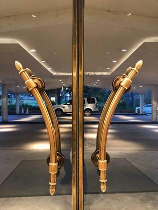 Maple Terrace Door Pulls, Interior