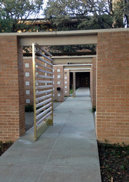 Columbaria Entry Gates, Max Levy Architect