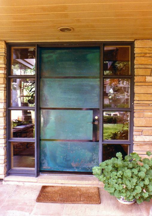 Entry Door, Lever Handles