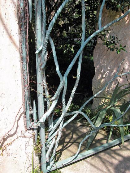 """Mimi's Garden"" Entry Gates, Detail"