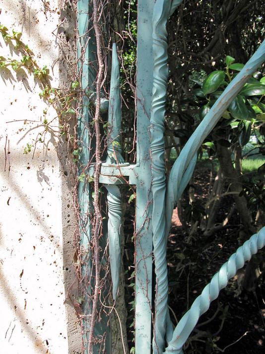 """Mimi's Garden"" Entry Gates Detail"
