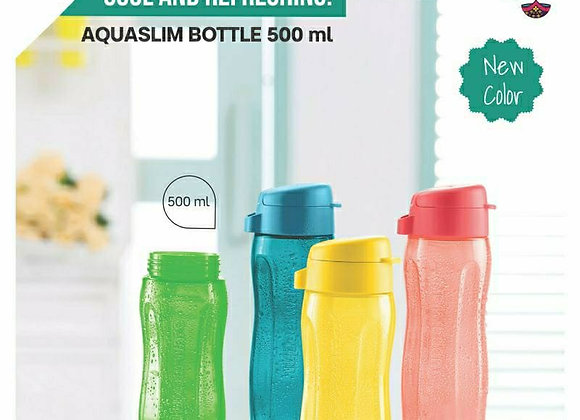 Tupperware Aquaslim bottle set of 4-500 ml