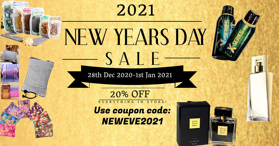 Copy of New Years Day Sale Event Flyer T