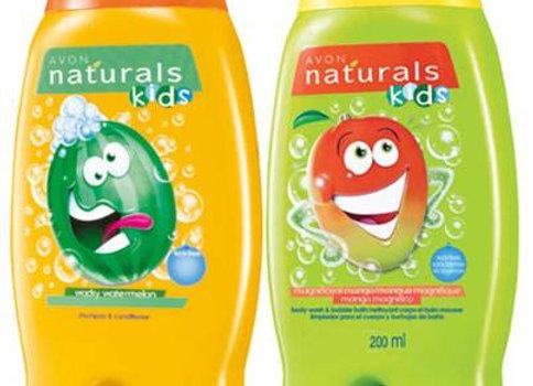 Avon Naturals Kids Wacky Watermelon & Mango Shampoo & Conditioner (200 ml each)