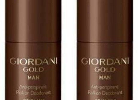 Giordani Gold Man Anti-perspirant Roll-On Deodorant (Pack of 2)