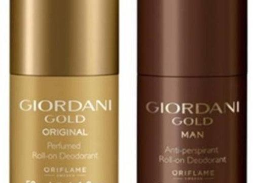 Oriflame Sweden goirdani Deodorant Roll-on - For Men & Women (set of 2)