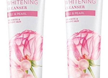 Avon Rose & Pearl Whitening Cleanser (set of 2 of 100 g each)
