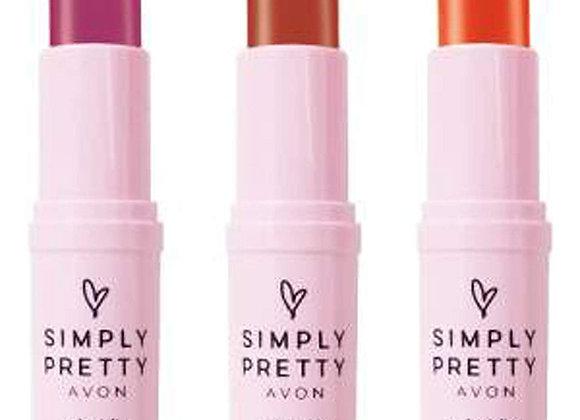 Avon color bliss Lipstick combo (Darling Mauve, Graceful Nude,Fresh Melon)