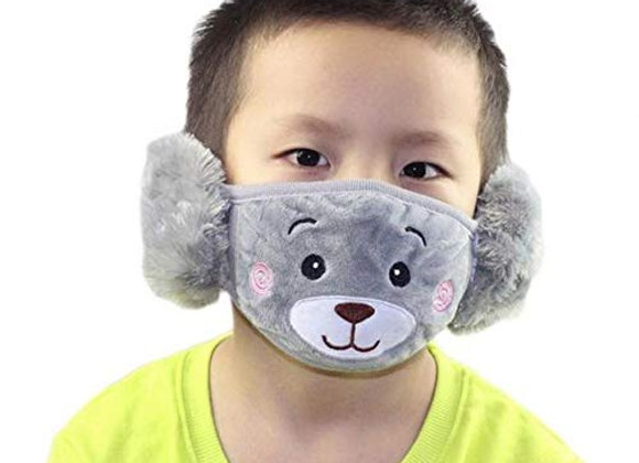 Today Fashion Kids Warm mask (Grey)