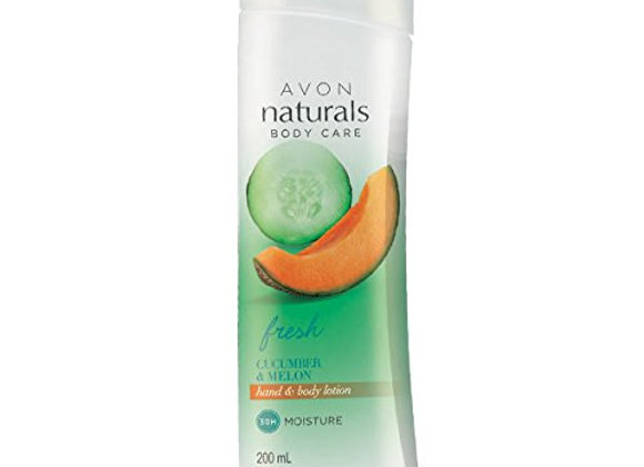 Avon Naturals Cucumber & Melon Body Lotion