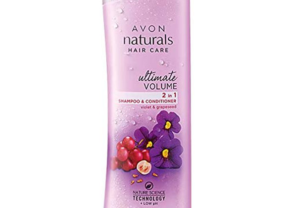 Avon Naturals Ultimate Volume 2-in 1 Shampoo & Conditioner