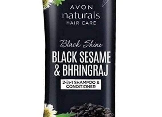 Avon Black Shine 2-in-1 Shampoo & Conditioner