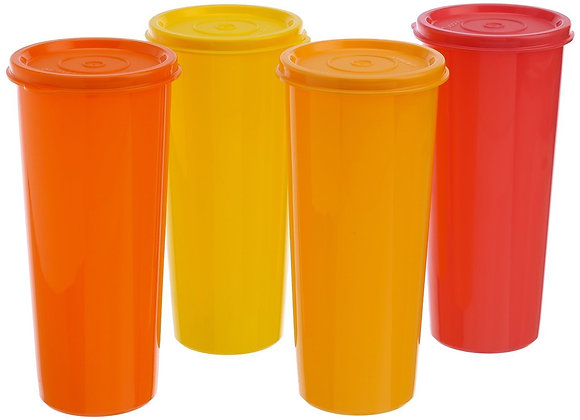 Tupperware Jumbo Tumblers - Set of 4