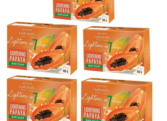 Avon Naturals Body Care Lightening Bar Soap (100 g each)
