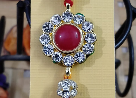 Today Fashion Stone Rakhi for Brother