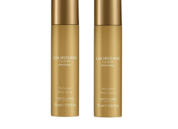 Oriflame Giordani Gold Original Perfumed Body Spray (Pack of 2)