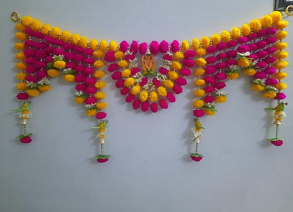 Today Fashion Handmade pom pom Door Bandarwar/Torans Diwali decor