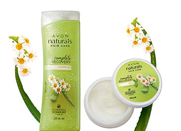 Avon Naturals Complete Recovery Shampoo (200 ml) & Hair Mask (150 g)