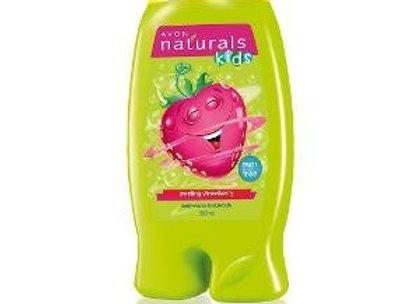 Avon Naturals Kids Wacky Strawberry Shampoo & Conditioner (200 ml)