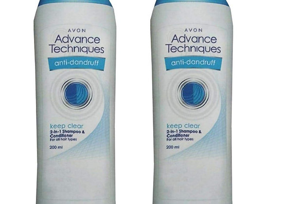 Avon Advance Techniques Keep Clean 2-in-1 Shampoo & Conditioner