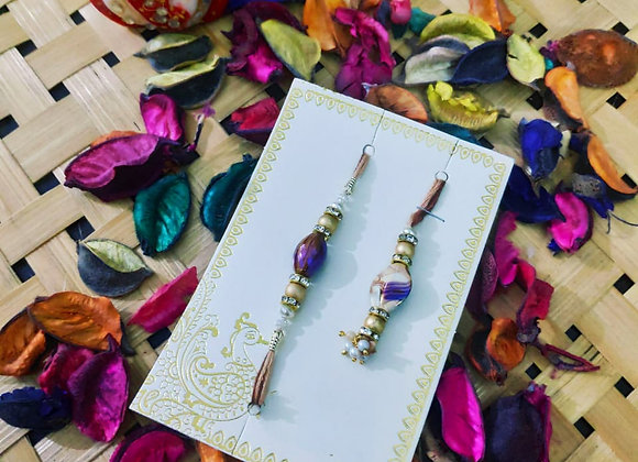 Today Fashion Bhaiya Bhabhi Lumba Rakhi Set