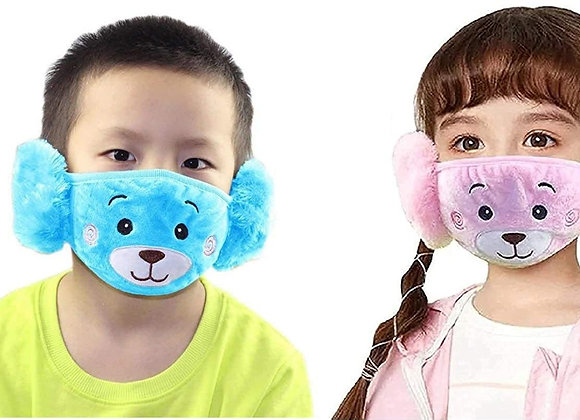 Today Fashion Kids Warm mask (Blue and baby pink)