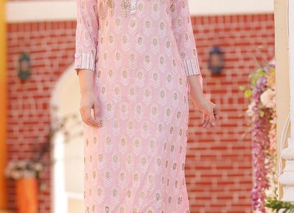 Today Fashion women's heavy rayon slub tublight printed Kurti with printed pant