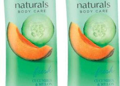 Avon Naturals Cucumber & Melon Shower Gel (combo of 2)