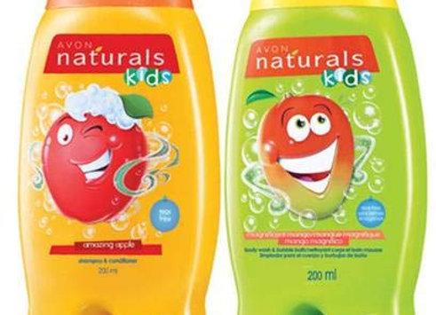 Avon Naturals Kids Wacky Apple & Mango Shampoo & Conditioner (200 ml each)