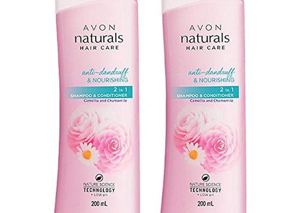 Avon Naturals Camellia & Chamomile Anti-Dandruff Shampoo & Conditioner