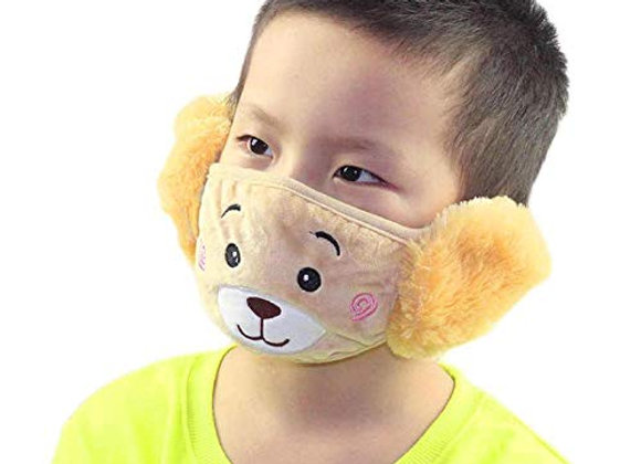 Today Fashion Kids Warm mask Beige colour  (3 Years to 10 Years) for Autumn Wint