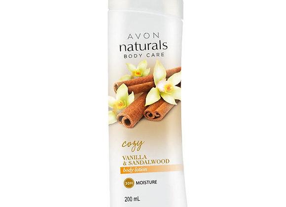 Avon Naturals Vanilla & Sandalwood Body Lotion 200 ml