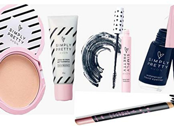 Avon Simply Pretty Make Up Kit (Set of 5)