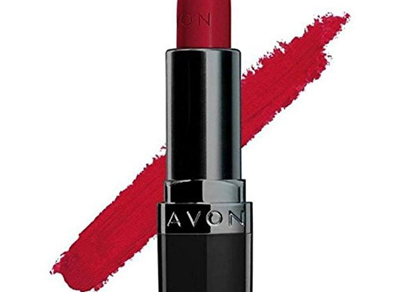 Avon True Color Perfectly Matte Lipstick (Red Supreme)