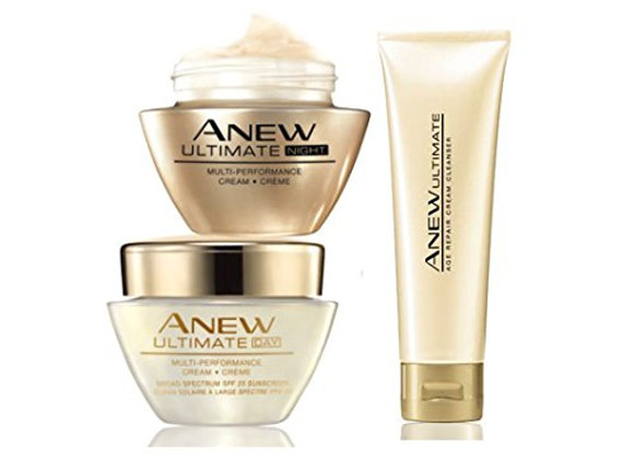 Avon Anew Ultimate Full Combo (Day Cream+Night Cream+Cleanser)