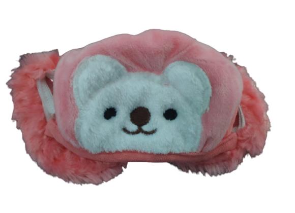 Today Fashion Kids Warm mask (Hot pink)