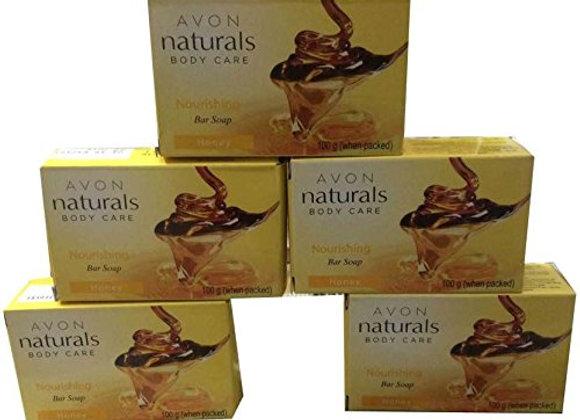 Avon Naturals Body Care Lightening Soap Rose  (5 x 100 g)