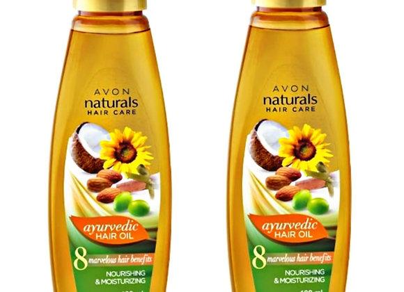 Avon Naturals Ayurvedic Hair Oil 100 ml each (Combo of 2)