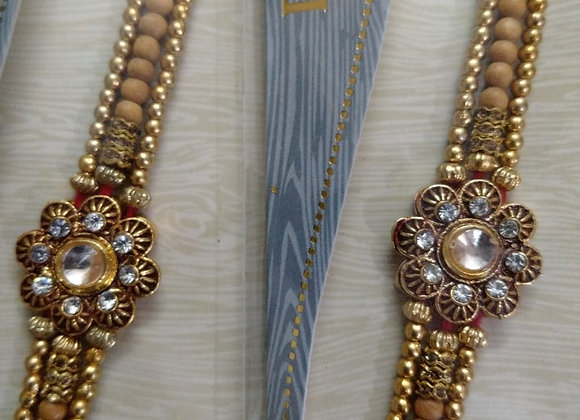 Today Fashion Rakhi for Brother set of 2