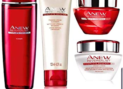 Avon reversalist set (Day+Night Cream, Cleanser, Toner)