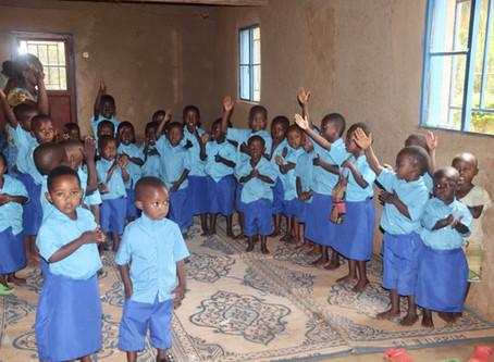 Preschools birthed in the most remote area of Rwanda