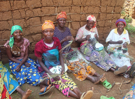 Giant Rwandan Craft Sale
